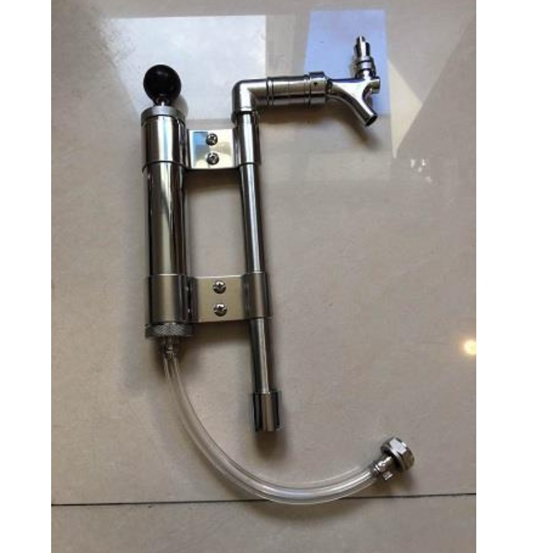 Stainless Steel Tube Party Pump Keg Barrel Hose American With 5/8' G Coupler